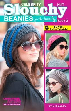 Celebrity Slouchy Knit Beanies Book 2 - [product-vendor] - Craftco Ltd - NZ