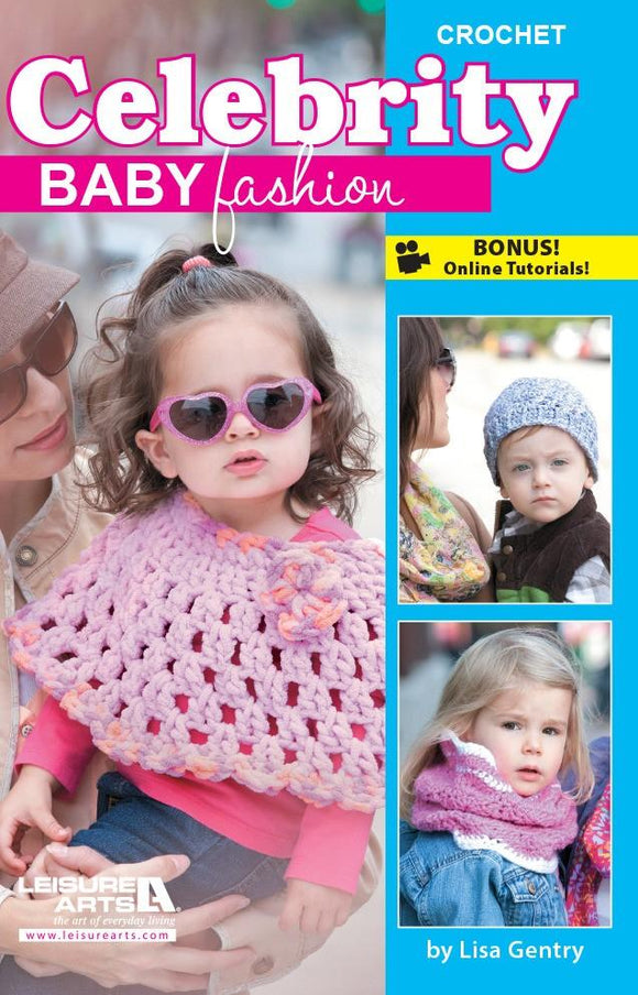 Celebrity Baby Fashion Crochet - [product-vendor] - Craftco Ltd - NZ