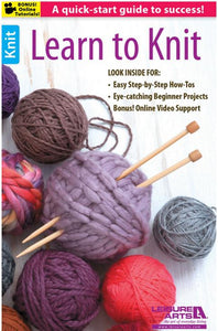 Learn to Knit - [product-vendor] - Craftco Ltd - NZ