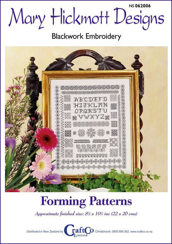 Blackwork Forming Patterns - [product-vendor] - Craftco Ltd - NZ