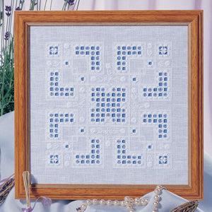 Hardanger Knot Garden Chart 18x18cm - [product-vendor] - Craftco Ltd - NZ