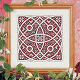 Assisi Knot Garden Chart 18x18cm - [product-vendor] - Craftco Ltd - NZ