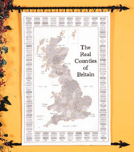 The Real Counties of Britain 60x100cm - [product-vendor] - Craftco Ltd - NZ