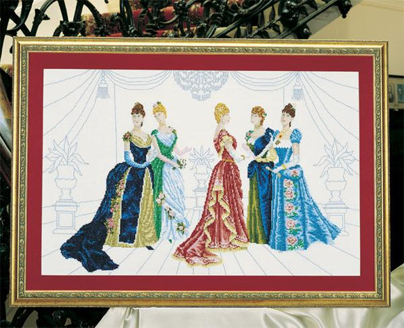 Belles of the Ball Chart 58x37cm - [product-vendor] - Craftco Ltd - NZ