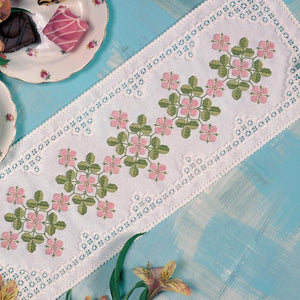 Dainty Delight Chart 46x17cm - [product-vendor] - Craftco Ltd - NZ
