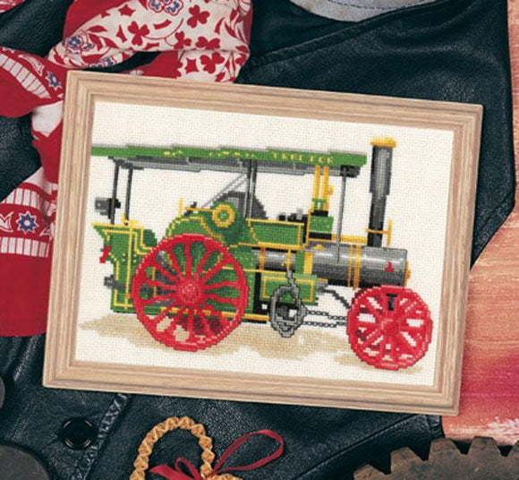 Steam Tractor Chart 20x13cm - [product-vendor] - Craftco Ltd - NZ