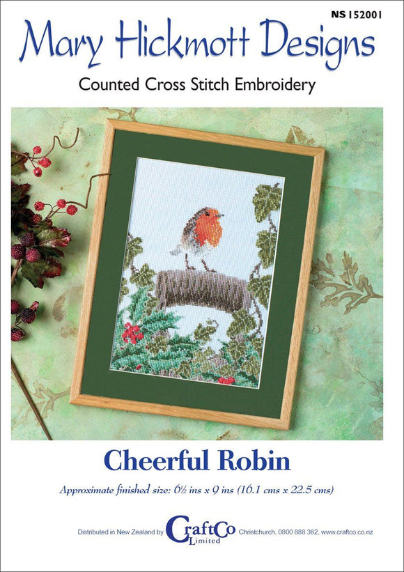 Cheerful Robin - [product-vendor] - Craftco Ltd - NZ