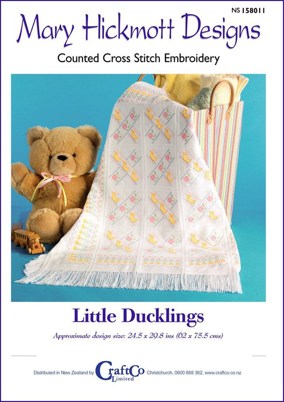 Little Ducklings Afghan - [product-vendor] - Craftco Ltd - NZ