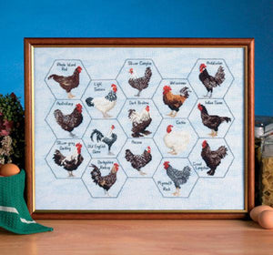 Cockerel Collection 44x33cm - [product-vendor] - Craftco Ltd - NZ