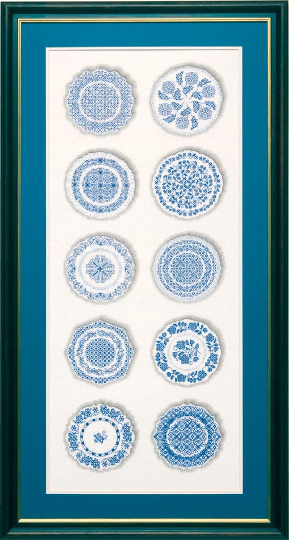 Porcelain Plates 67x27cm - [product-vendor] - Craftco Ltd - NZ