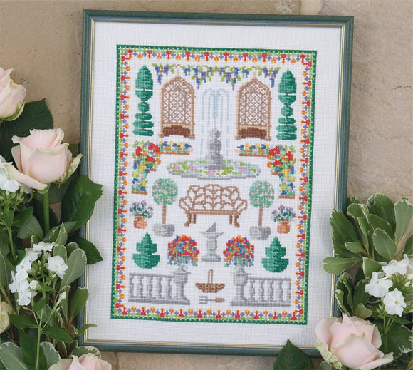 Formal Garden 23x31cm - [product-vendor] - Craftco Ltd - NZ