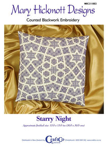 Blackwork Starry Night - [product-vendor] - Craftco Ltd - NZ