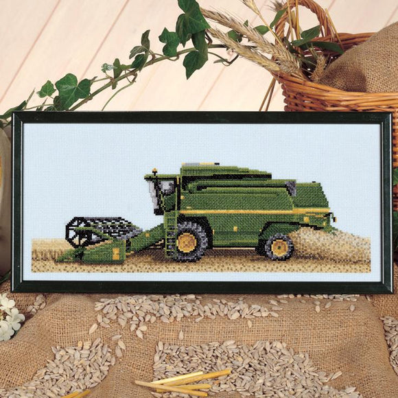 Combine Harvester Chart 33x14cm - [product-vendor] - Craftco Ltd - NZ