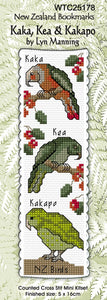 Kaka, Kea, Kakapo - [product-vendor] - Craftco Ltd - NZ