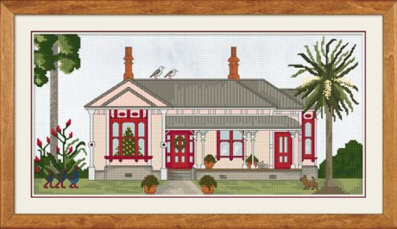 Christmas at the Villa 37x18 cm - [product-vendor] - Craftco Ltd - NZ