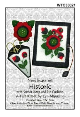 Felt Needlecase Set - Historic - [product-vendor] - Craftco Ltd - NZ