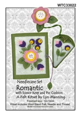 Felt Needlecase Set - Romantic - [product-vendor] - Craftco Ltd - NZ