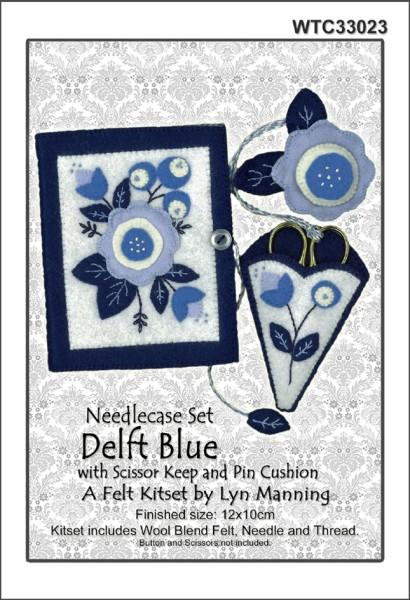 Felt Needlecase Set - Delft Blue - [product-vendor] - Craftco Ltd - NZ