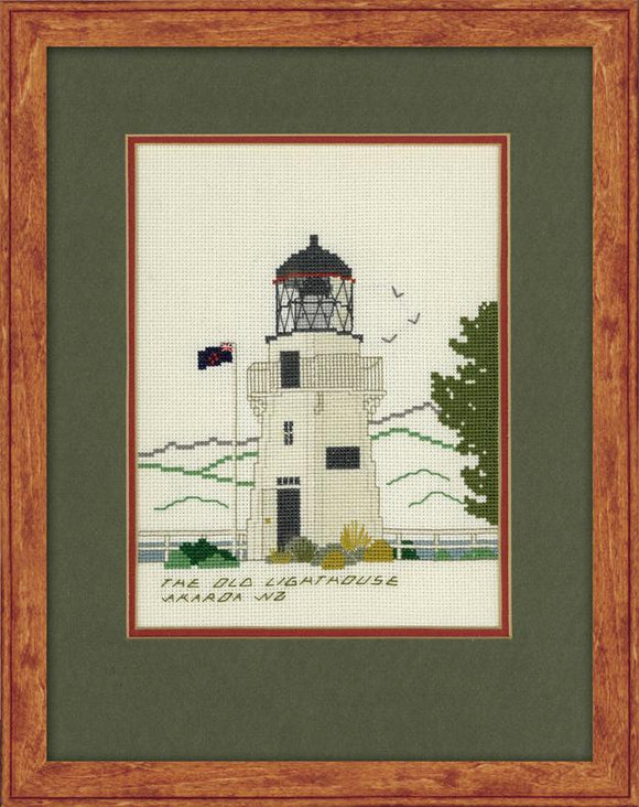 Akaroa Lighthouse 16ct Aida 20x14cm - [product-vendor] - Craftco Ltd - NZ