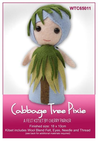 Cabbage Tree Pixie 18x10cm - [product-vendor] - Craftco Ltd - NZ