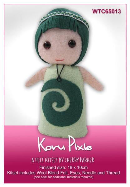 Koru Pixie 18x10cm - [product-vendor] - Craftco Ltd - NZ