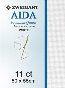 Aida Fat Quarter 11 White - [product-vendor] - Craftco Ltd - NZ