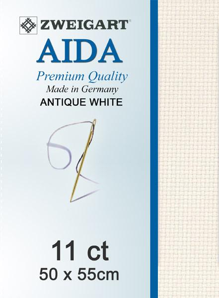 Aida Fat Quarter 11 Antique White - [product-vendor] - Craftco Ltd - NZ
