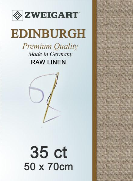 Edinburgh Fat Quarter 35 Raw Linen - [product-vendor] - Craftco Ltd - NZ