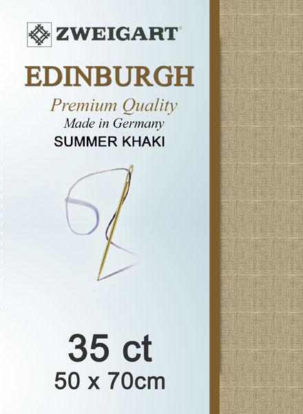 Edinburgh Fat Quarter 35 Summer Khaki - [product-vendor] - Craftco Ltd - NZ