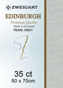 Edinburgh Fat Quarter 35 Pearl Grey - [product-vendor] - Craftco Ltd - NZ