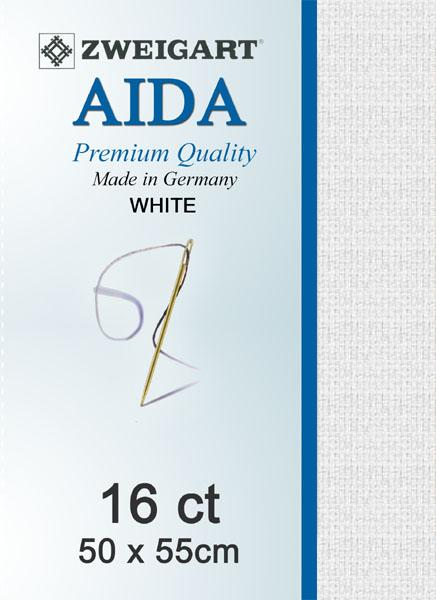 Aida Fat Quarter 16 White - [product-vendor] - Craftco Ltd - NZ