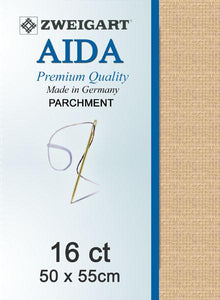 Aida Fat Quarter 16 Parchment - [product-vendor] - Craftco Ltd - NZ