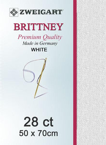 Brittney Fat Quarter 28 White - [product-vendor] - Craftco Ltd - NZ