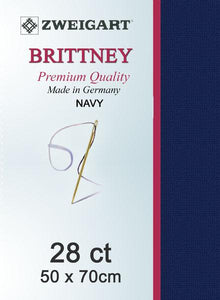 Brittney Fat Quarter 28 Navy - [product-vendor] - Craftco Ltd - NZ