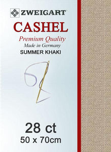 Cashel Fat Quarter 28 Summer Khaki - [product-vendor] - Craftco Ltd - NZ
