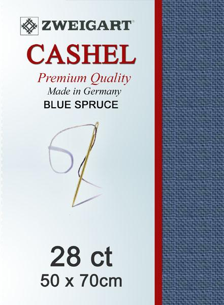 Cashel Fat Quarter 28 Blue Spruce - [product-vendor] - Craftco Ltd - NZ