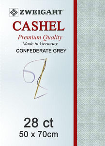Cashel Fat Quarter 28 Silver Grey - [product-vendor] - Craftco Ltd - NZ