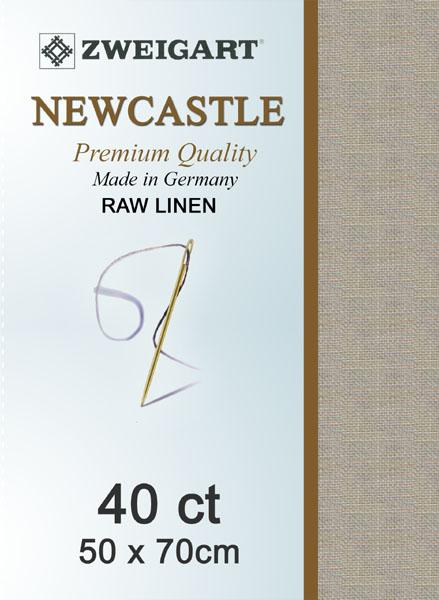 Newcastle Fat Quarter 40 Raw Linen - [product-vendor] - Craftco Ltd - NZ