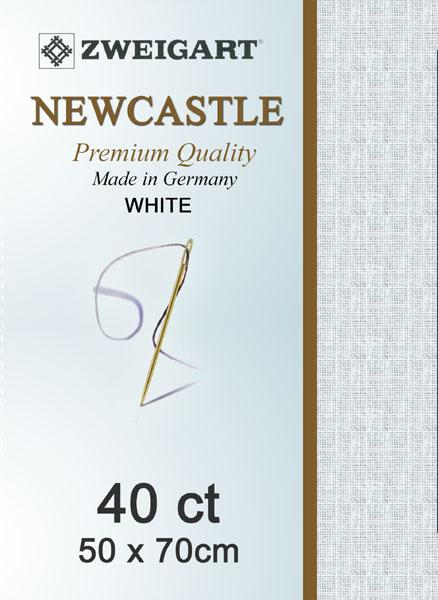 Newcastle Fat Quarter 40 White - [product-vendor] - Craftco Ltd - NZ