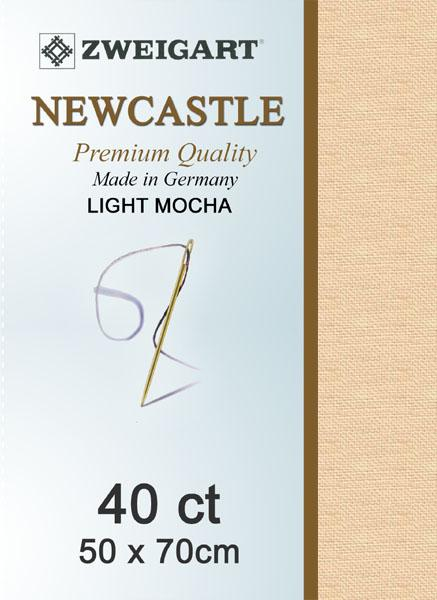 Newcastle Fat Quarter 40 Light Mocha - [product-vendor] - Craftco Ltd - NZ