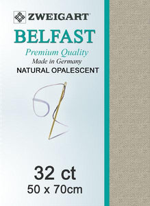 Belfast Fat Quarter 32 Natural Opalescent - [product-vendor] - Craftco Ltd - NZ