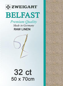 Belfast Fat Quarter 32 Raw Linen - [product-vendor] - Craftco Ltd - NZ