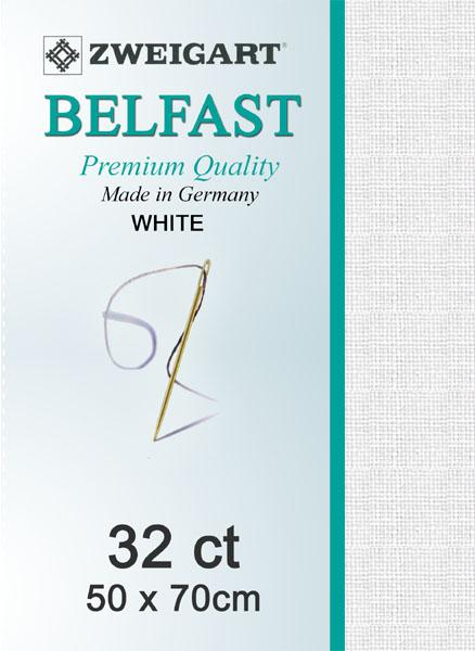 Belfast Fat Quarter 32 White - [product-vendor] - Craftco Ltd - NZ