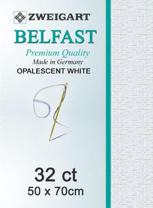 Belfast Fat Quarter 32 Opalescent White - [product-vendor] - Craftco Ltd - NZ