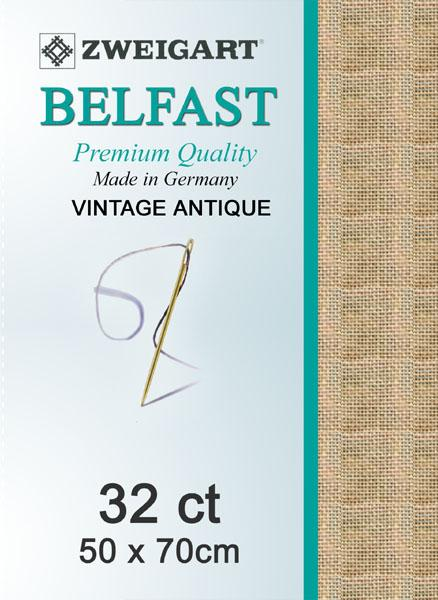 Belfast Fat Quarter 32 Vintage Mocha - [product-vendor] - Craftco Ltd - NZ
