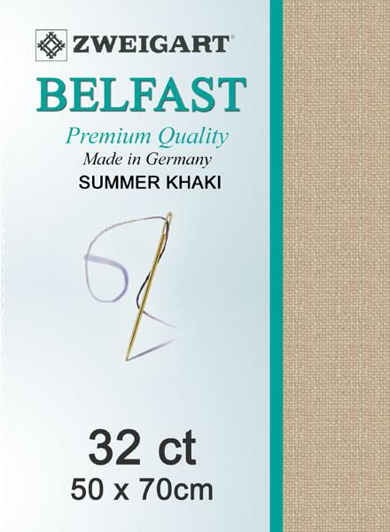 Belfast Fat Quarter 32 Summer Khaki - [product-vendor] - Craftco Ltd - NZ