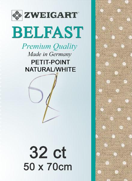 Belfast Fat Quarter 32 Petiti-Point Natural-White - [product-vendor] - Craftco Ltd - NZ