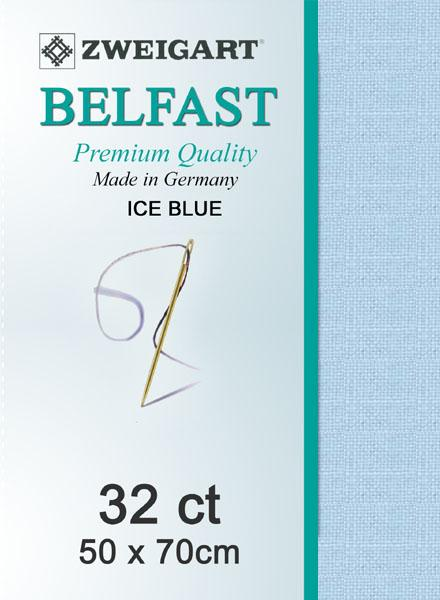 Belfast Fat Quarter 32 Pale Blue - [product-vendor] - Craftco Ltd - NZ