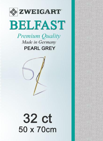 Belfast Fat Quarter 32 Pearl Grey - [product-vendor] - Craftco Ltd - NZ