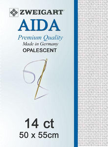 Aida Fat Quarter 14 Opalescent - [product-vendor] - Craftco Ltd - NZ